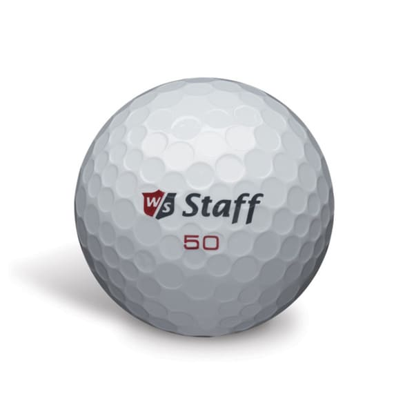 50 Elite White Golf Balls (Pack of 12)