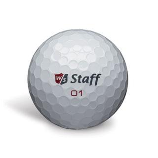 Wilson Zip White Golf Balls (Pack of 24)