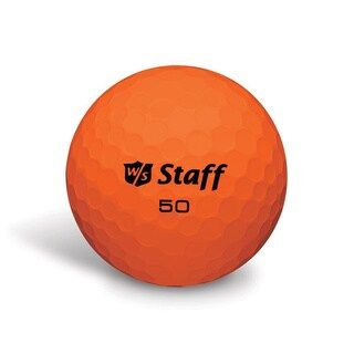 50 Elite Orange Golf Balls (Pack of 12)