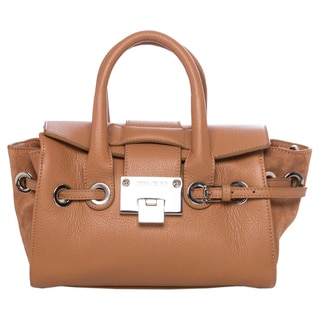 Jimmy Choo Mini Rosa Leather Satchel