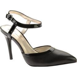 Women's Anne Klein Wanetta Black Leather