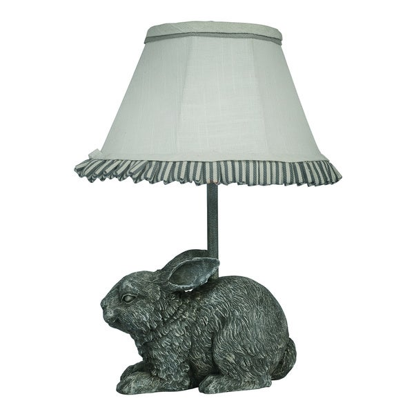 Somette Garden Bunny Accent Lamp
