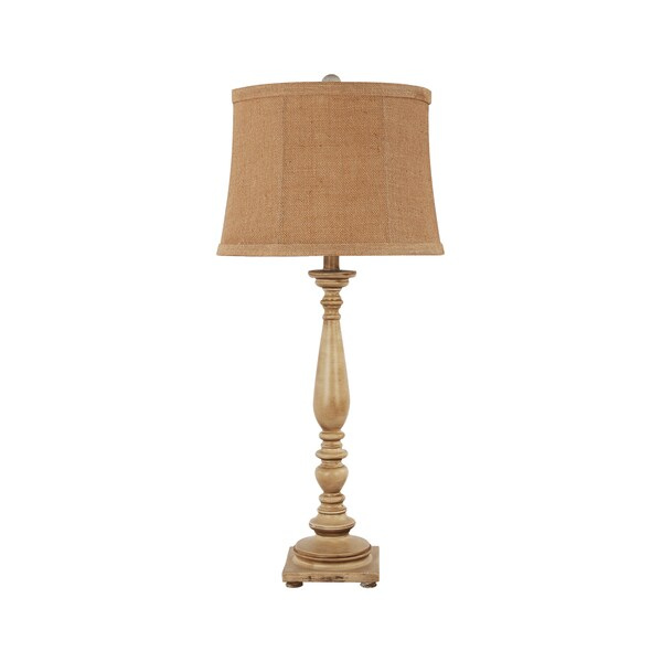 somette 1 light antique white traditional table lamp. Black Bedroom Furniture Sets. Home Design Ideas
