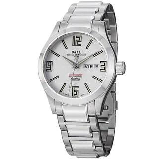 Ball Men's NM1022C-SCAJ-WH 'Engineer II' Silver Dial Stainless Steel Bracelet Watch