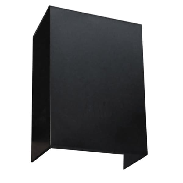 NT Air Wall-mounted Black Chimney Extension 13074781