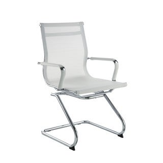 Pantera White Metal/ Nylon Guest Chair