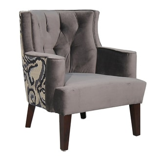 Kate Grey Occasional Chair
