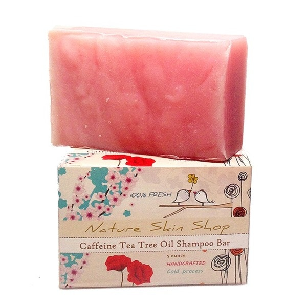 Stimulating Caffeine and Tea Tree Oil 5-ounce Shampoo Bar