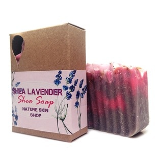 Simply Shea Natural Lavender Goat's Milk 5-ounce Soap Bar