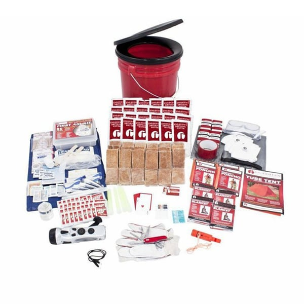 4-person Bucket Survival Kit