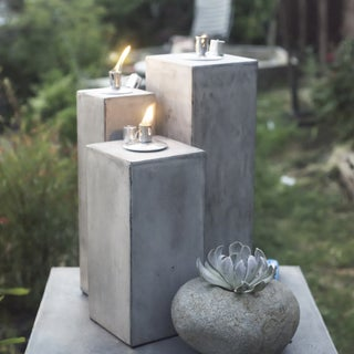 Hand-crafted Pylon Outdoor Lantern (Vietnam)