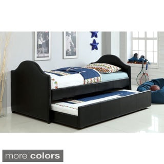 Ordino Contemporary Twin Daybed with Twin Trundle