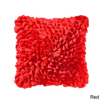 Vogue Ruffle 14-inch Decorative Throw Pillow