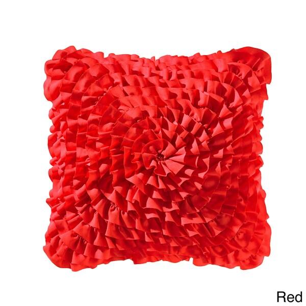 Teen Vogue Ruffle 14-inch Decorative Throw Pillow