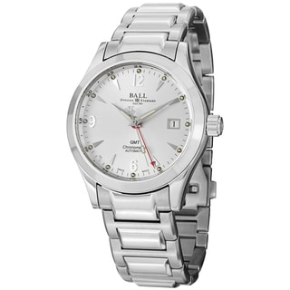 Ball Men's GM1032C-S2CJ-SL 'Engineer Ohio GMT' Silver Dial Stainless Steel Watch