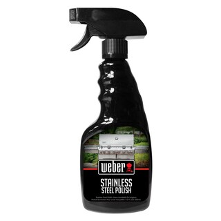 Weber W67 12-ounce Stainless Steel Grill Polish