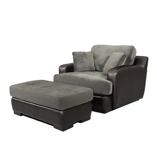 Francisco Chair and Ottoman Set