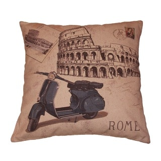 Rome Theme Decorative Throw Pillow