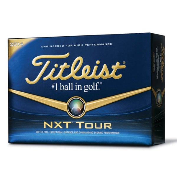 Titleist 2014 NXT Tour Golf Ball 12-Ball Pack