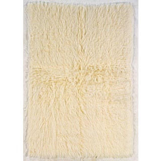 Oh! Home Flokati Extreme Heavy Natural Rug (3' x 5')
