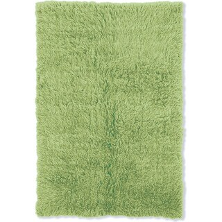 Oh! Home Flokati Heavy Lime Green Rug (4' x 6')