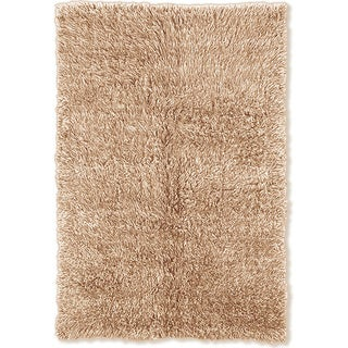 Oh! Home Flokati Heavy Tan Rug (4' x 6')