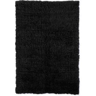 Linon Flokati Heavy Black Rug (8' x 10')