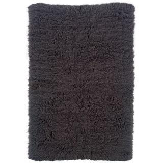 Linon Flokati Heavy Grey Rug (8' x 10')