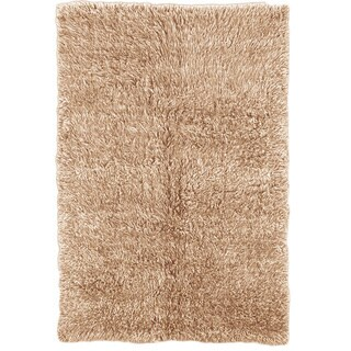 Oh! Home Flokati Super Heavy Tan Rug (4' x 6')