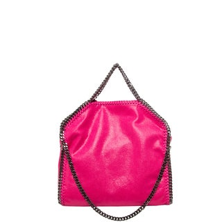 Stella McCartney Small Falabella Shaggy Deer Fold-Over Tote