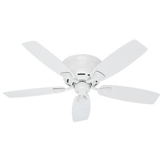 Hunter Sea Wind 48-inch ETL Damp Rated White Ceiling Fan