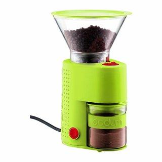 Bodum Lime Green Burr Electric Coffee Grinder
