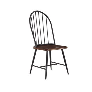 Signature Designs by Ashley Shanilee Black/ Brown Dining Room Side Chair (set of 2)