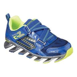 Boys' Skechers Mega Flex Mega Blade 2.0 Sneaker Royal/Yellow