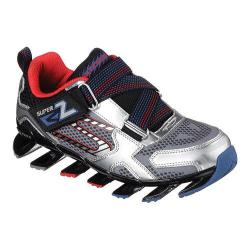 Boys' Skechers Mega Flex Mega Blade 2.0 Sneaker Silver/Black