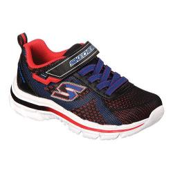 Boys' Skechers Nitrate Brio Sneaker Black/Red