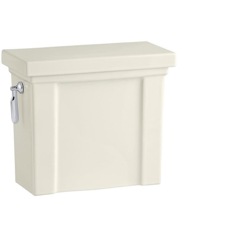 Kohler Tresham 1.28 Gallons per Flush Toilet Tank Only with AquaPiston Flushing Technology in Biscuit
