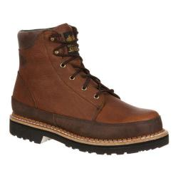Men's Georgia Boot GB00011 6in Georgia Giant Casual Dark Brown/Brown Leather