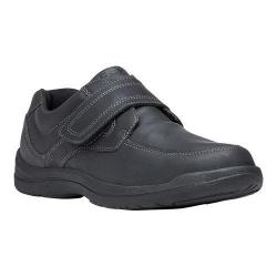 Men's Propet Gary Monkstrap Black Full Grain Leather