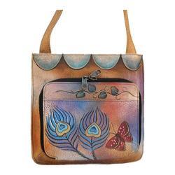 Women's ANNA by Anuschka 7011 Peacock Butterfly