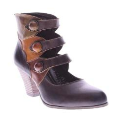 Women's L'Artiste by Spring Step Autumn Bootie Brown Multi Leather