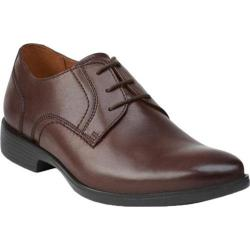 Men's Bostonian Wurster Plain Oxford Chestnut Leather