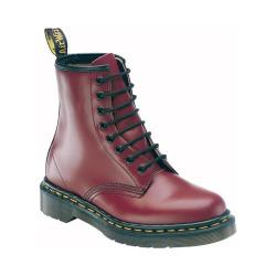Women's Dr. Martens 1460 8 Eye Boot Cherry Red Smooth