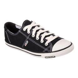 Women's Skechers BOBS Lo-Topia Black/White