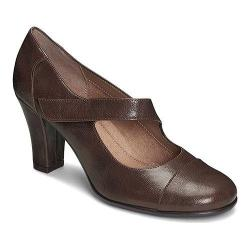 Women's A2 by Aerosoles On A Role Mary Jane Brown Faux Leather