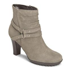 Women's Aerosoles Ment To Be Ankle Boot Grey Leather