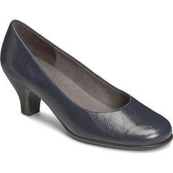 Women's Aerosoles Wise Guy Blue Faux Leather