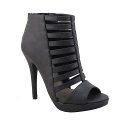 Women's Michael Antonio Regan Heel Black Polyurethane