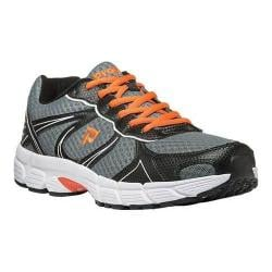 Men's Propet XV550 Grey/Orange Mesh/Synthetic