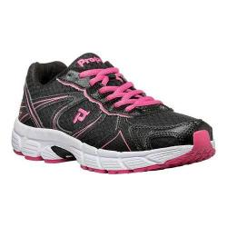 Women's Propet XV550 Black/Pink Mesh/Synthetic